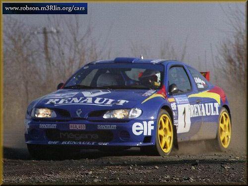 Top 50 Rally Cars: Renault Megane | Rally car, Rally and Cars