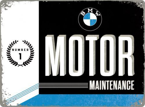 White - 8 X 6 cm Magnet 14323 Neu BMW Parking Only