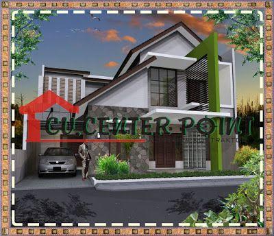 rumah minimalis modern minimalist house home fasade 12