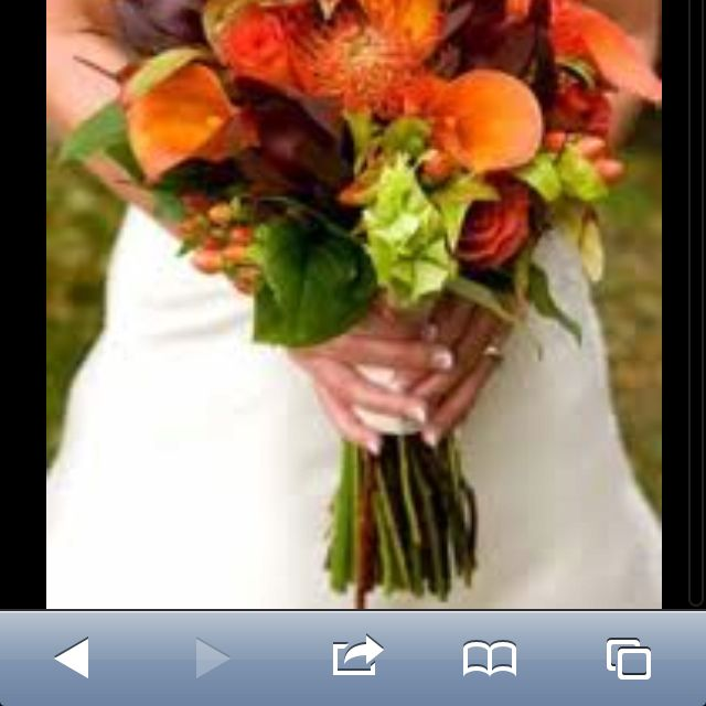 Wow for fall wedding