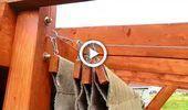 Photo of Bricolaje toldo retráctil simple para su pérgola #diy | Videos de bricolaje Sombras al aire libre en …