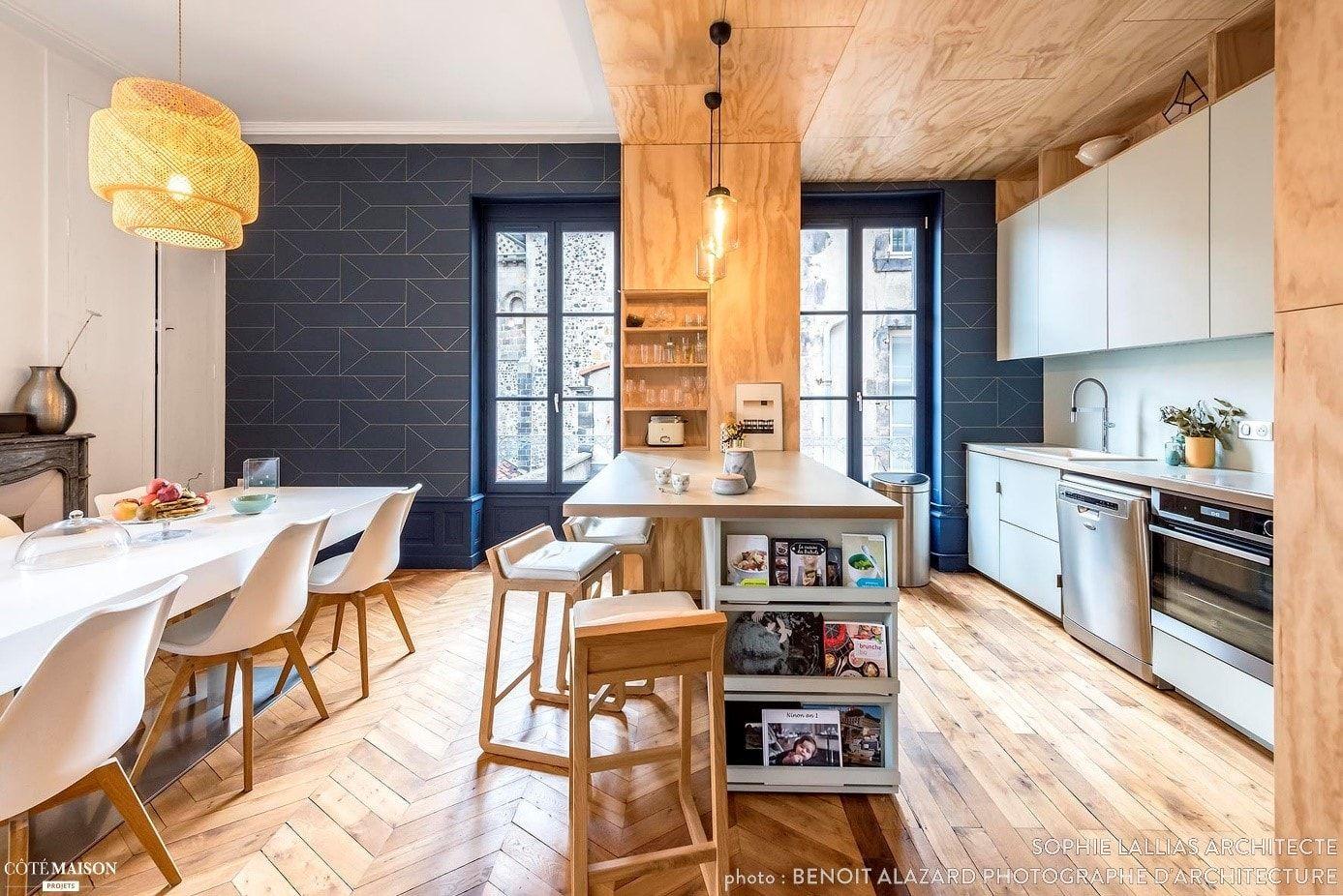 Aménagement De Cuisine Ouverte Sur Salon cuisine ouverte sur salon : photos et conseils d'aménagement