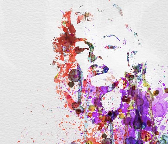 Marilyn ( http://uncovet.com/marilyn-monroe-art?via=HardPin=type129 )