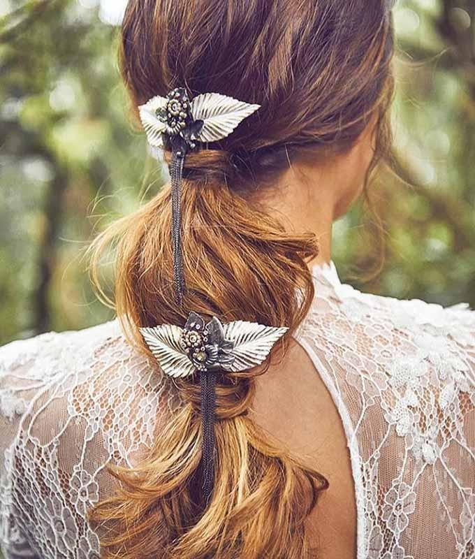 Peinados para novias: La coleta – Velada