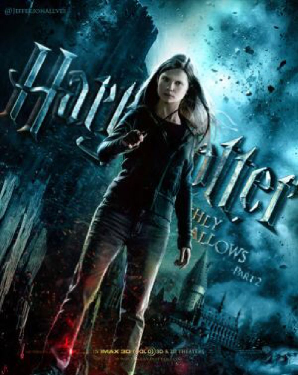 Ginny Deathly Hallows Part 2 By Jefferson Hp On Deviantart Ginny Weasley Harry Potter Ginny Harry Potter Characters
