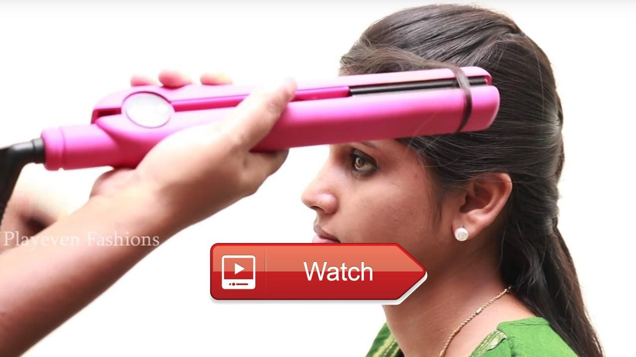 Easy and quick hair straightening at home heatless hairstyles