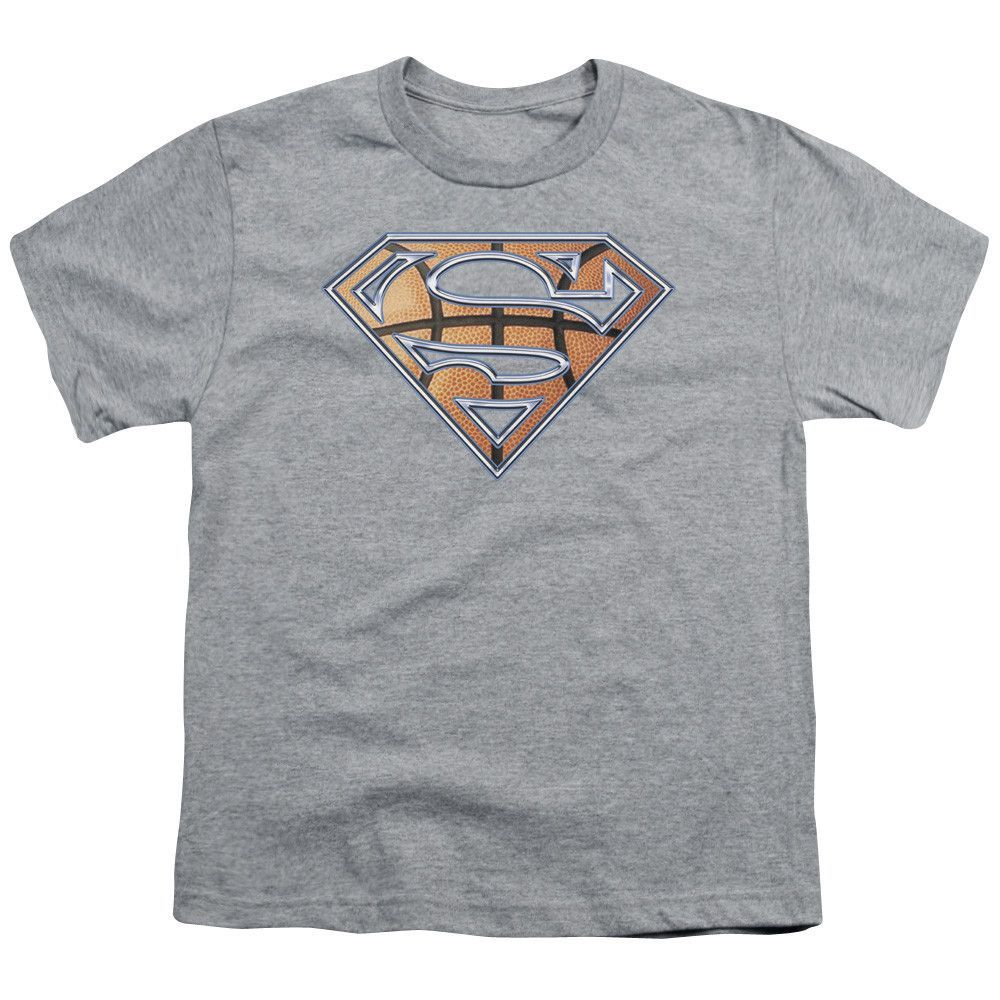 Superman: Basketball Shield Youth T-Shirt