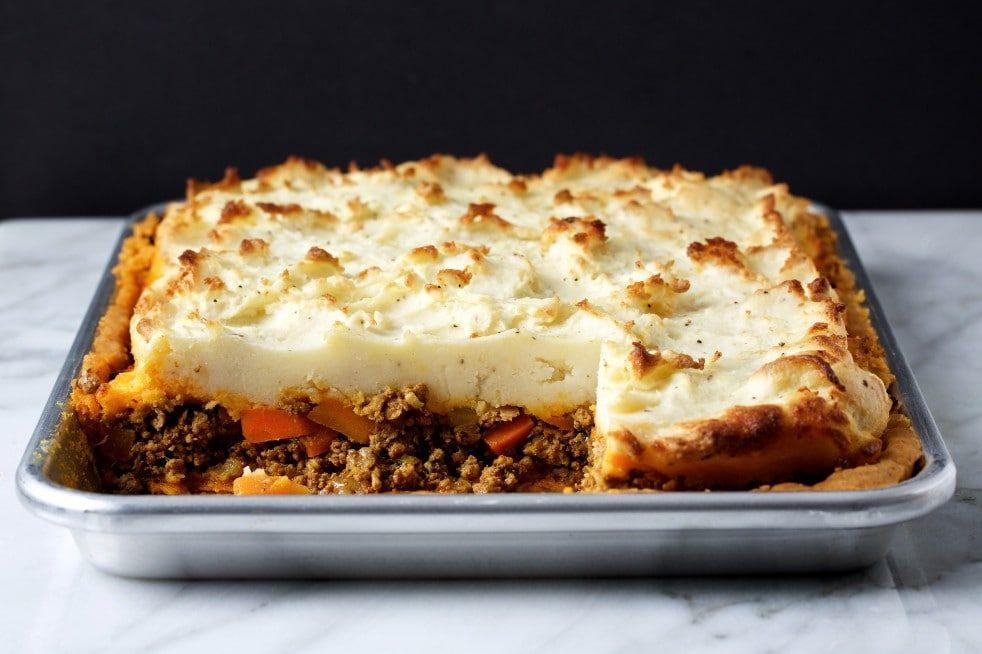 Moroccan Style Shepherd S Slab Pie Recipe Slab Pie Food Savory