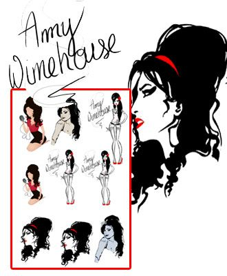 Amy winehouse tattoos pack 3 artwork pinterest amy winehouse amy winehouse tattoos pack 3 urmus Image collections
