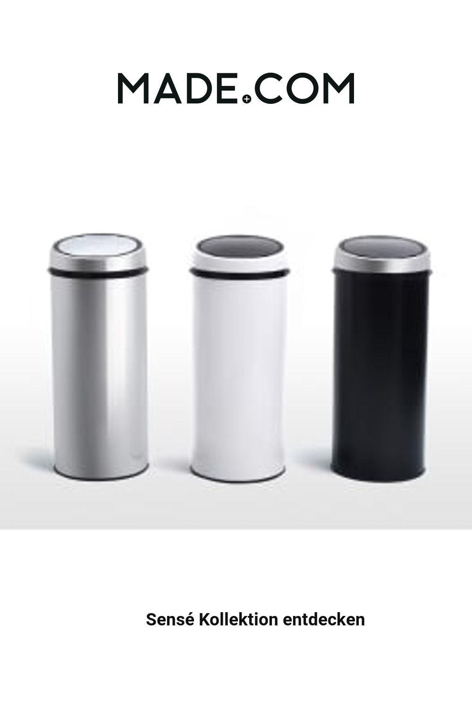Made Sensor Mulleimer Metallic Badezimmer Ideen Grosses In 2020 Rubbish Bin Trash Can Made Com