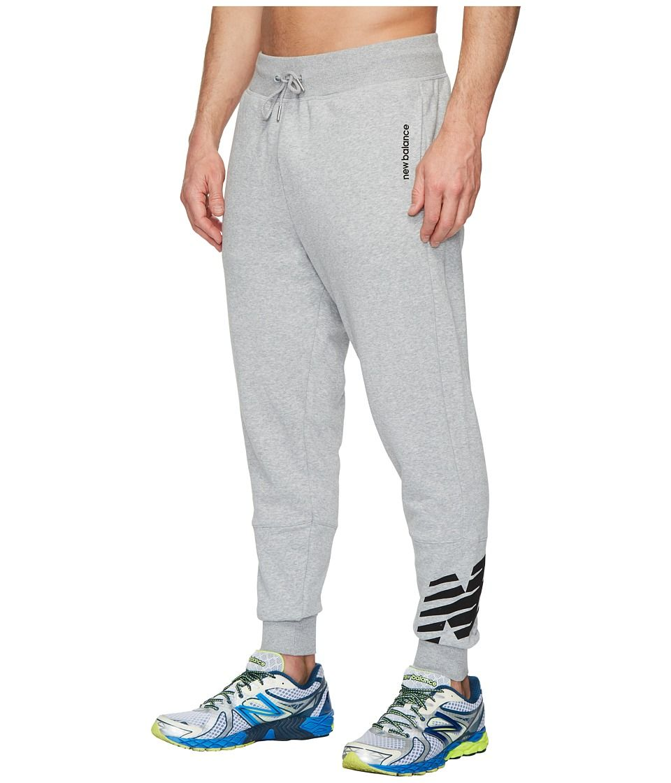 d515946103712 New Balance Essentials FT Graphic Sweatpants Men's Casual Pants Athletic  Grey Free shipping BOTH ways on