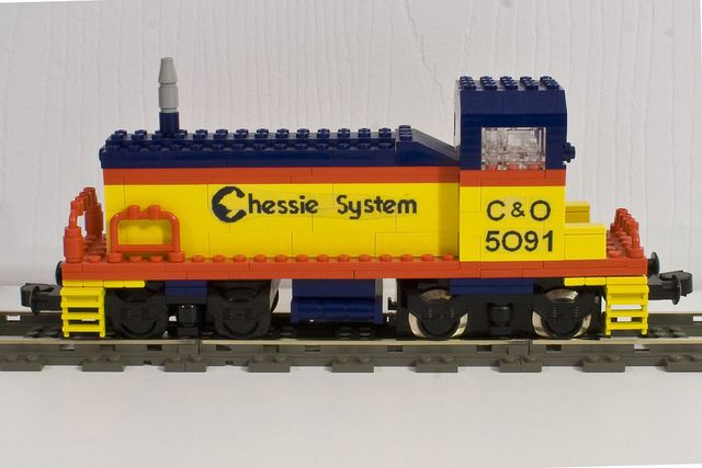 Chessie System EMD SW1200 Switcher | Lego trains in 2019