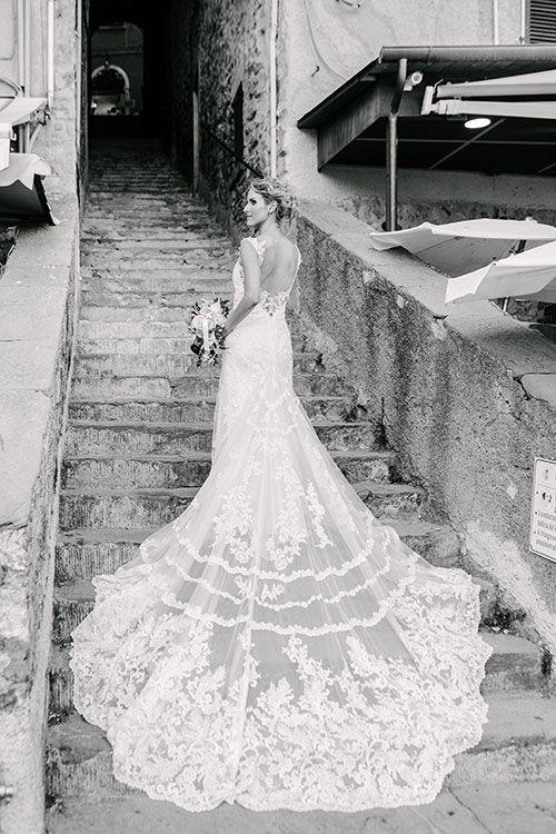 A Coastal Destination Wedding in Portovenere, Italy | Italy ...