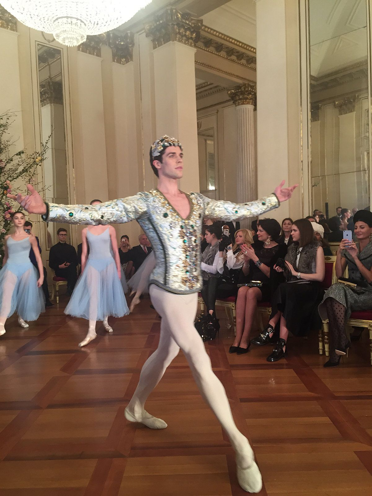 A collection inspired by the American Ballet Theatre