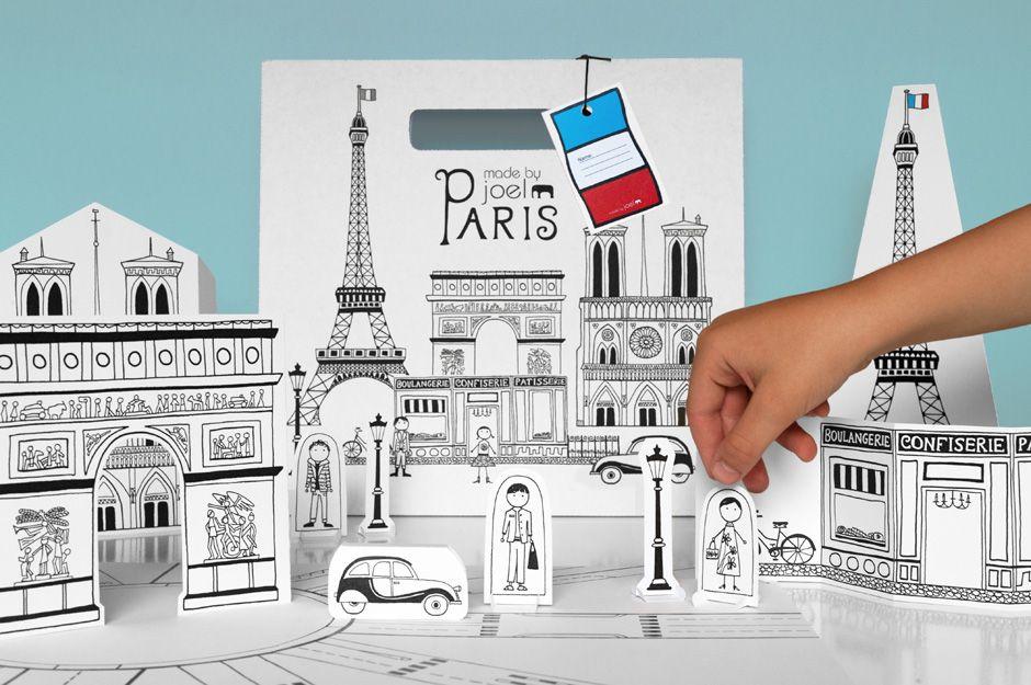 Hergestellt von Joel »Papier Stadt Paris Kits sind im Shop ...