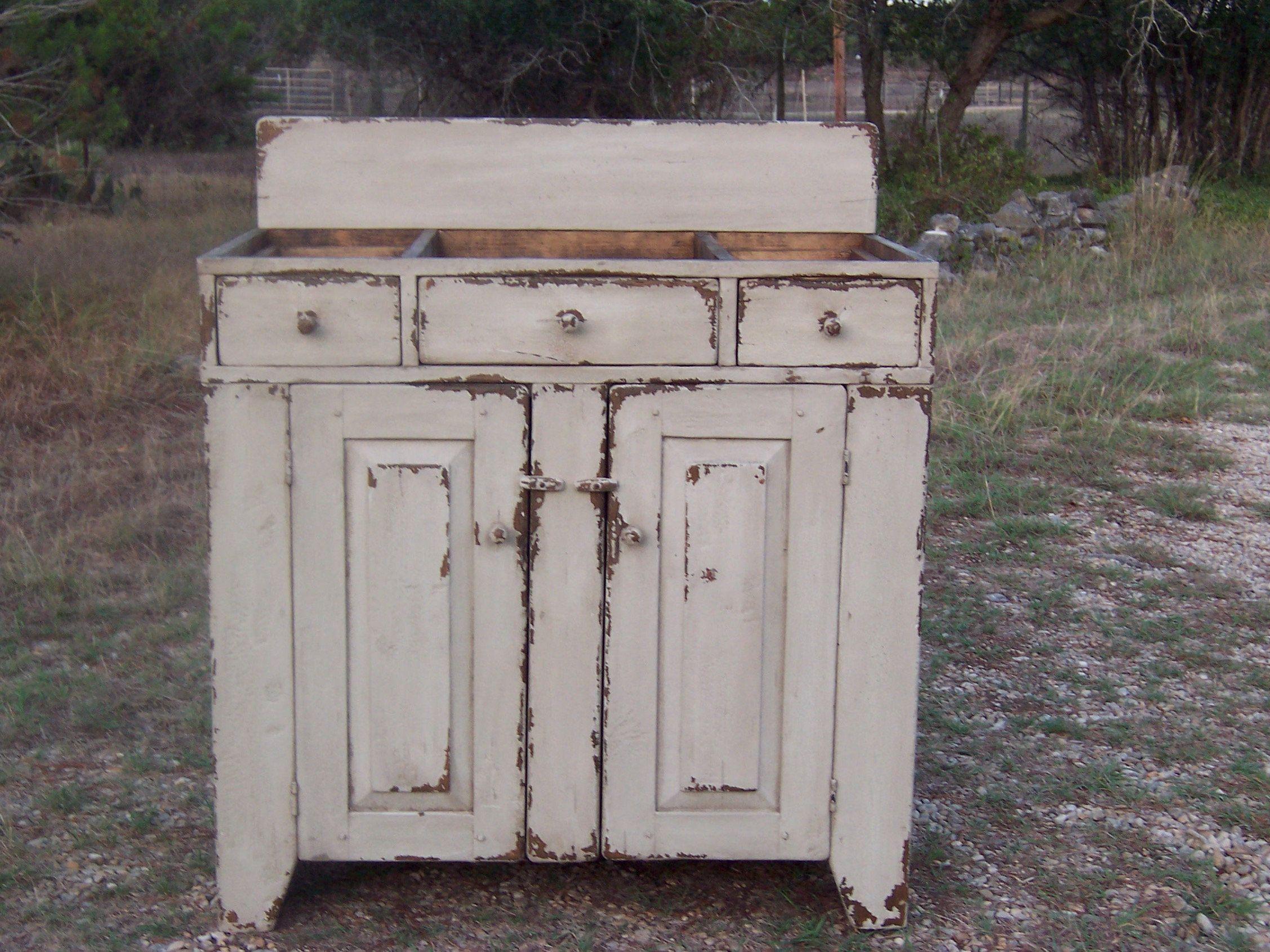 Bathroom vanity rustic vanity primitive vanity in a custom