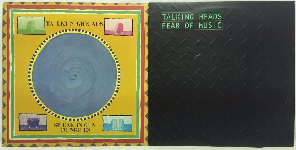 Talking Heads Fear Of Music Speaking In Tongues Lp