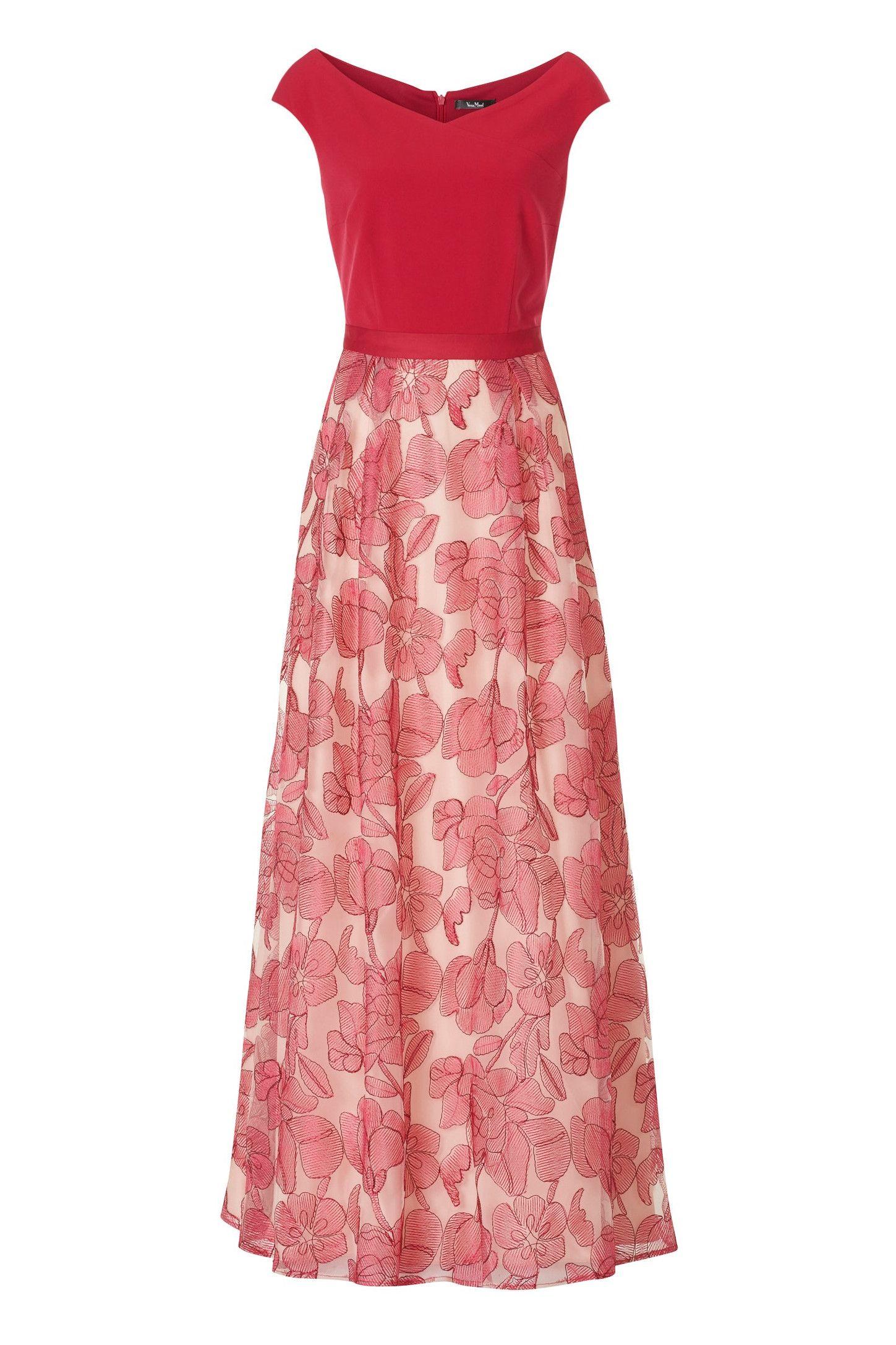 abendkleid mit langem rock | lange kleider, kleider für die