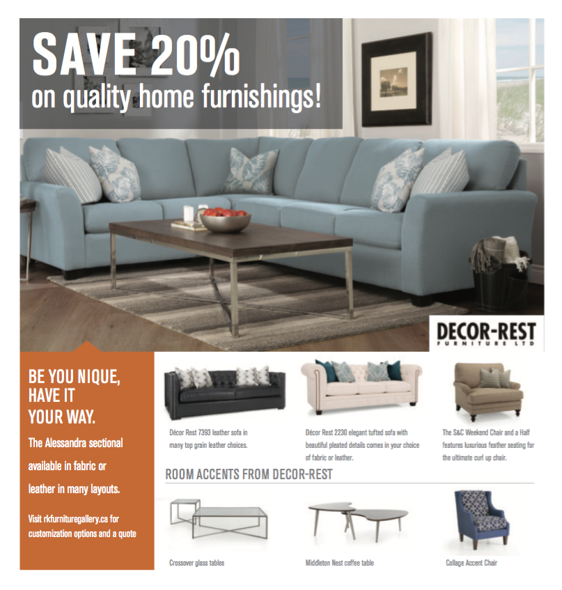 Incredible Deals Happening In October SAVE 20% On Quality Home Furnishings!  Visit RK Furniture Gallery Before October 31st Tu2026 | Pinteresu2026
