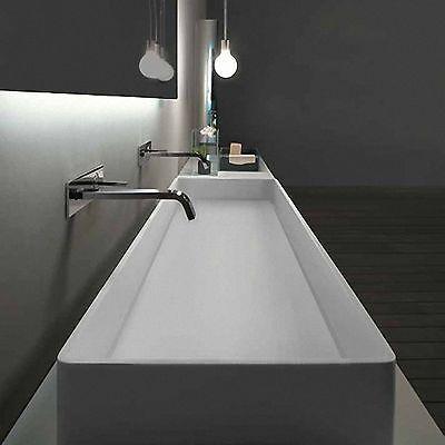 Design Waschtisch, Aufsatzwaschbecken, Mineralwerkstoff, HI-Macs ...