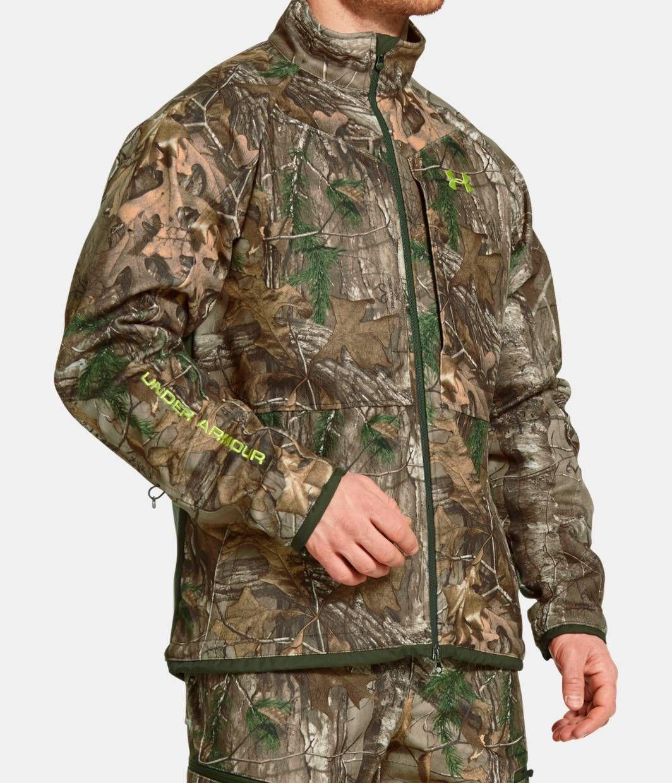 men's ua rut scent control jacket