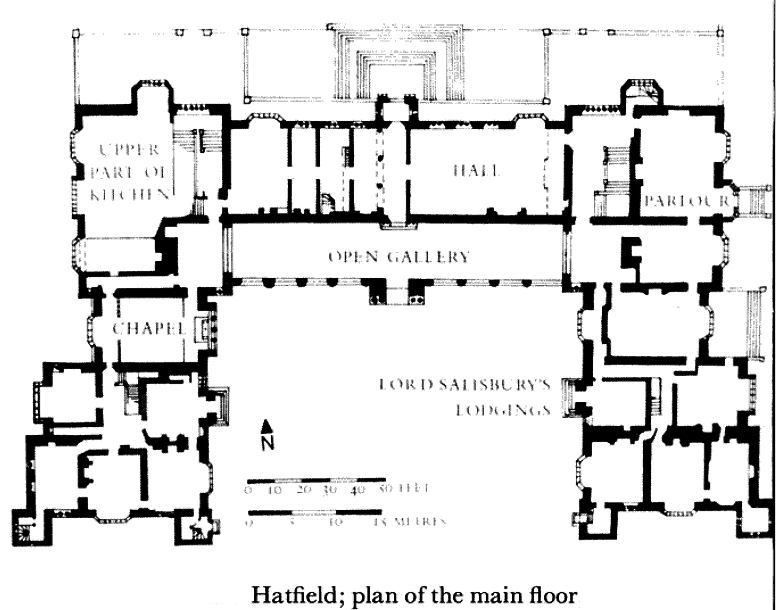 Hatfield House 50596e74c638d7588267784e2f44cc0f Jpg 776 610 Castle Floor Plan House Floor Plans Floor Plans