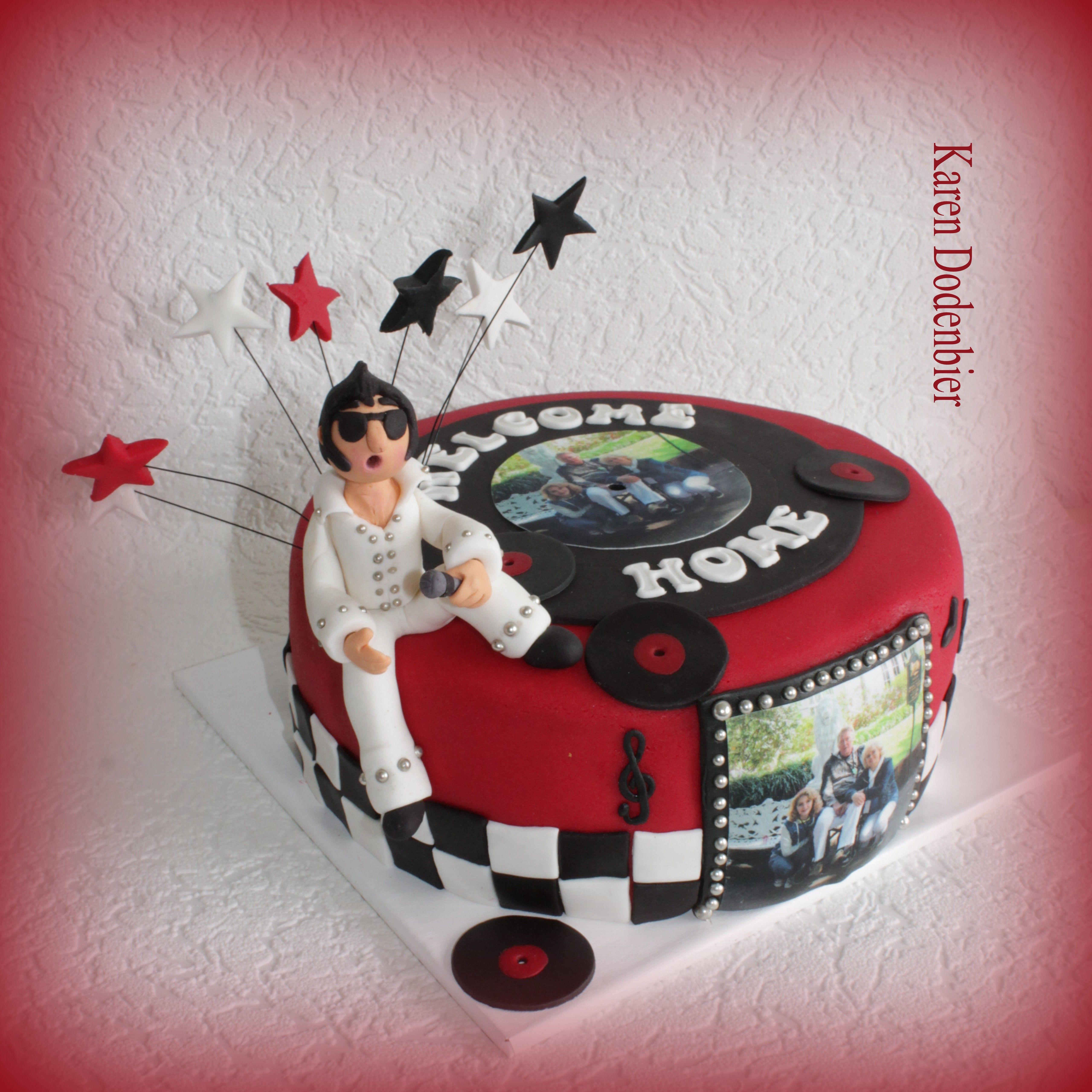 Elvis Cakes, Cake, Welcome