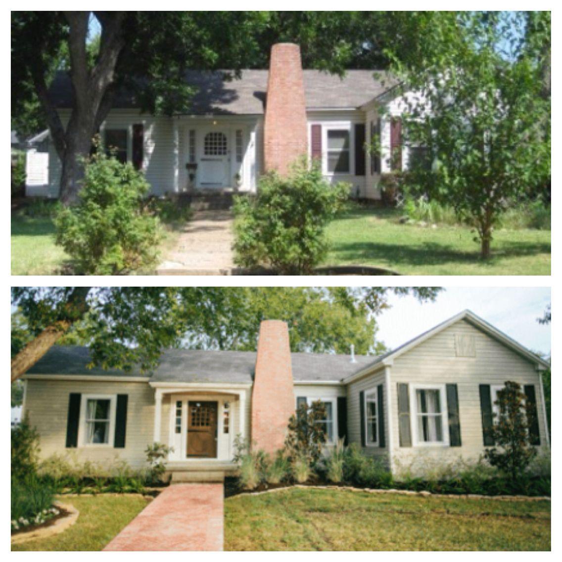 Before/ After Farmhouse Fixer Upper - 2016 - Lehman Lane  |Fixer Upper Before And After