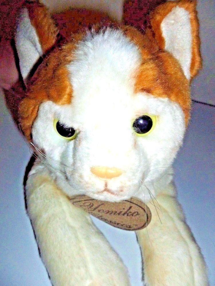 Russ Yomiko Cat Classic British Short Hair Plush Kitty Orange