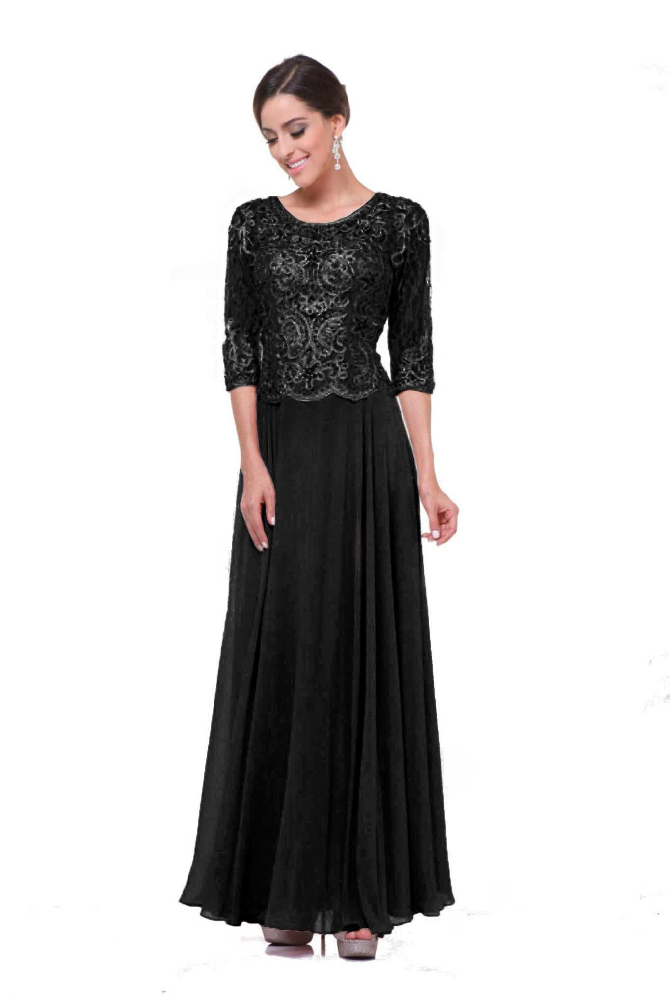 Dress to impress, this full length gown is the definition of ...