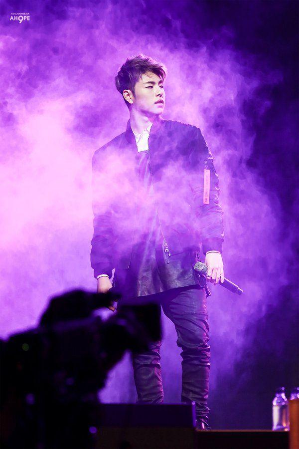 151121 JUNE @ Beijing Fanmeet (cr: koojunhoe_kr)  #iKON #JUNHOE #아이콘 #구준회
