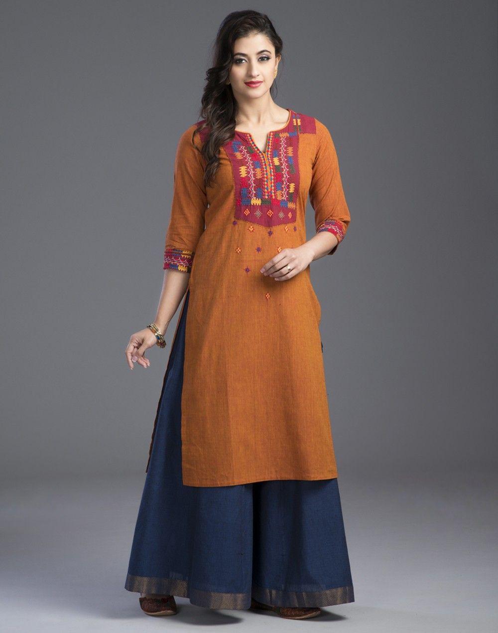 Shirt design with plazo - Ethnic Kurta With Palazzo Pants Read More Http Fashionpro Me