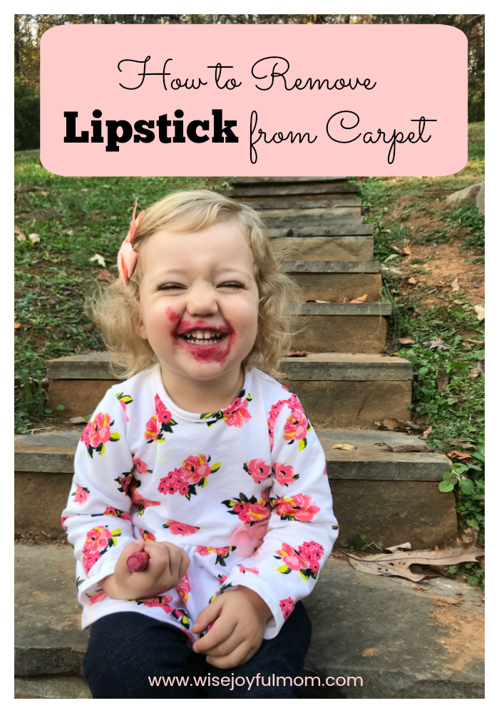 How to Get Lipstick out of Carpet Carpet cleaning hacks