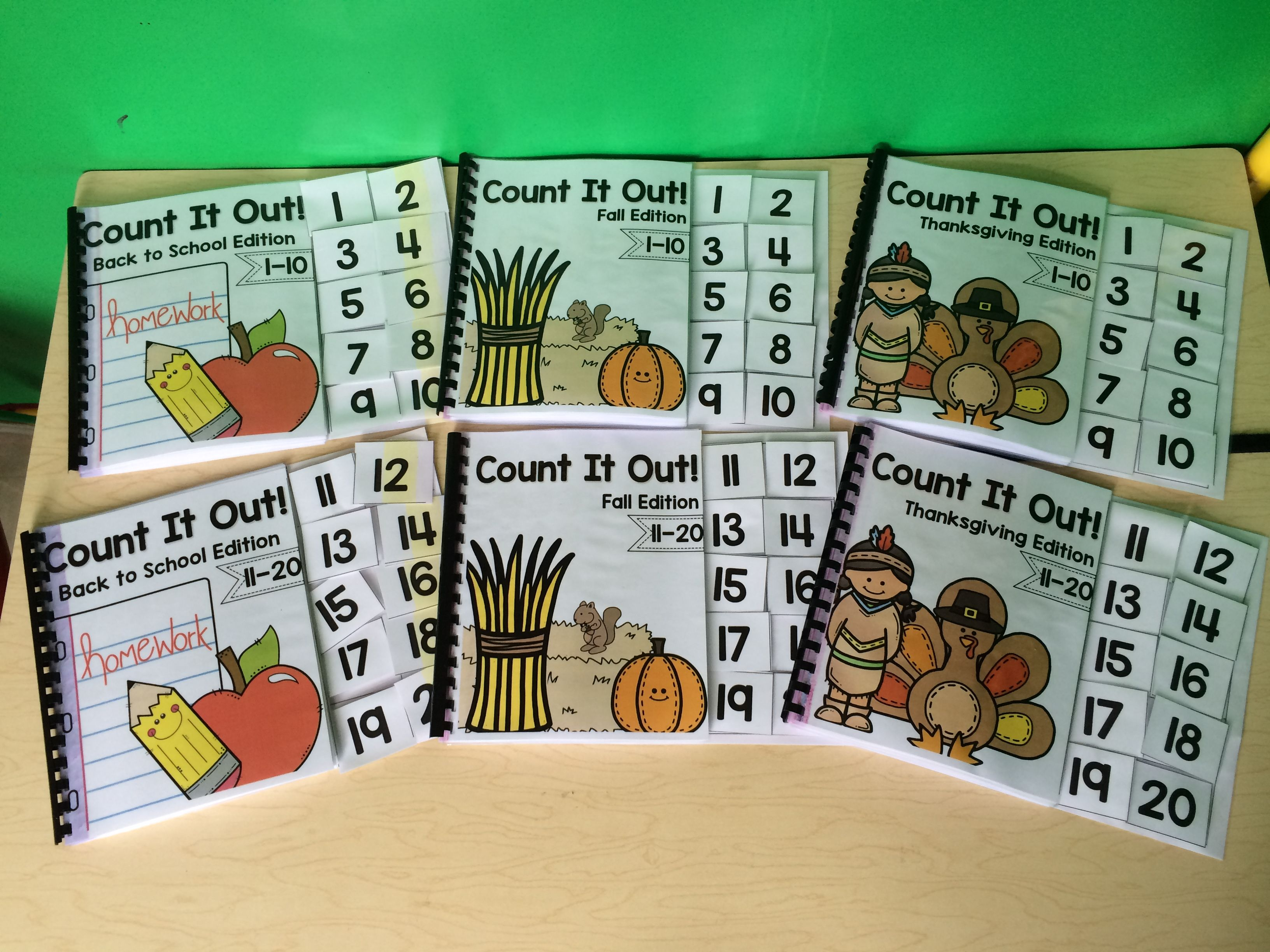Monthly Themed Counting Books To Practice Counting Objects