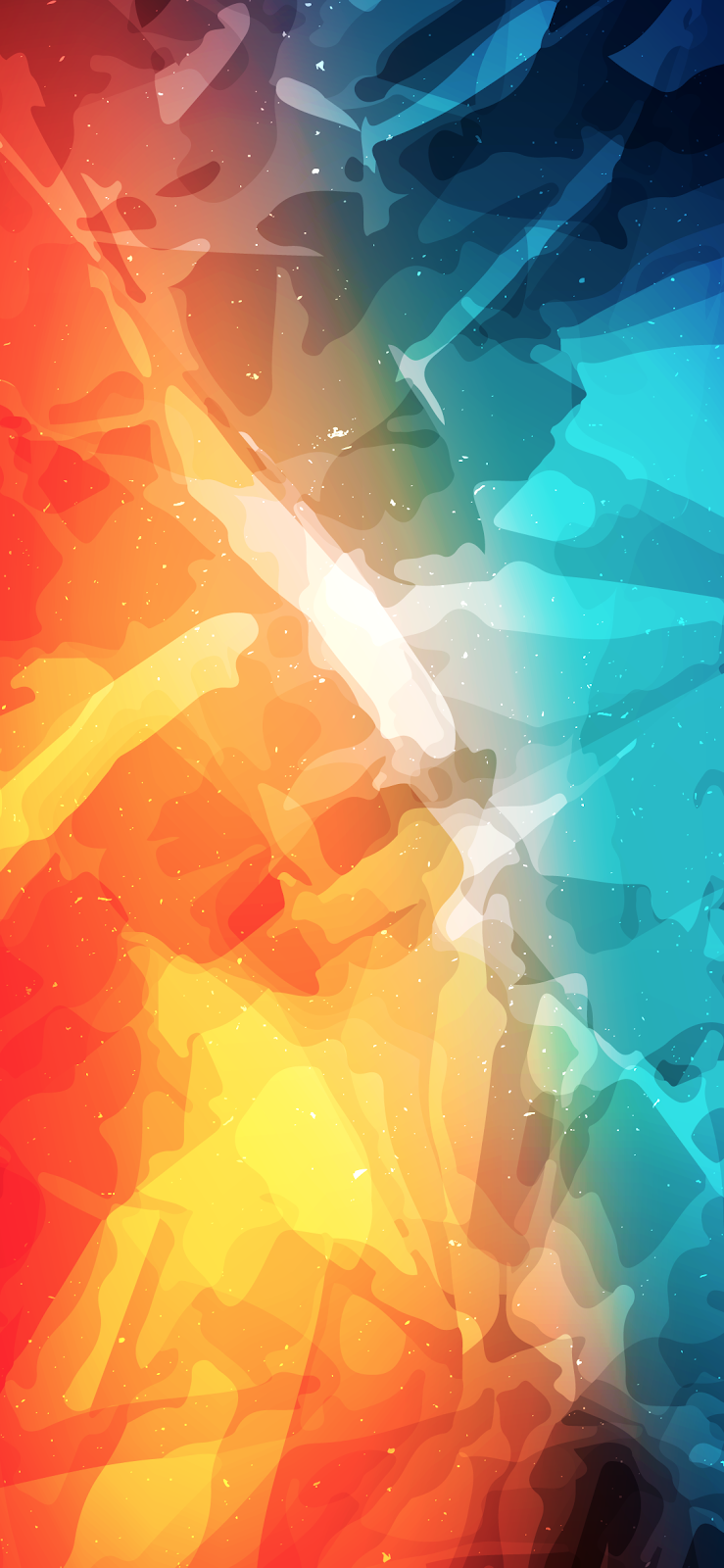 Fire Ice by EvgeniyZemelko #wallpaper #iphone #android # ...