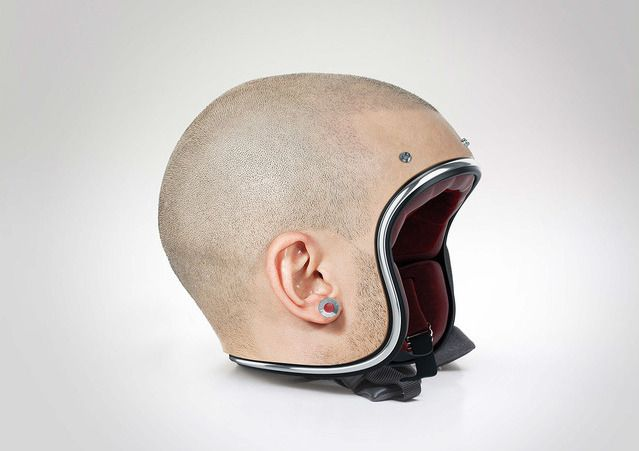 Protect Your Brain With A Realistic Head Motorcycle Helmet