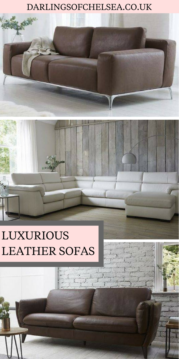 Luxury Leather Sofas Modern