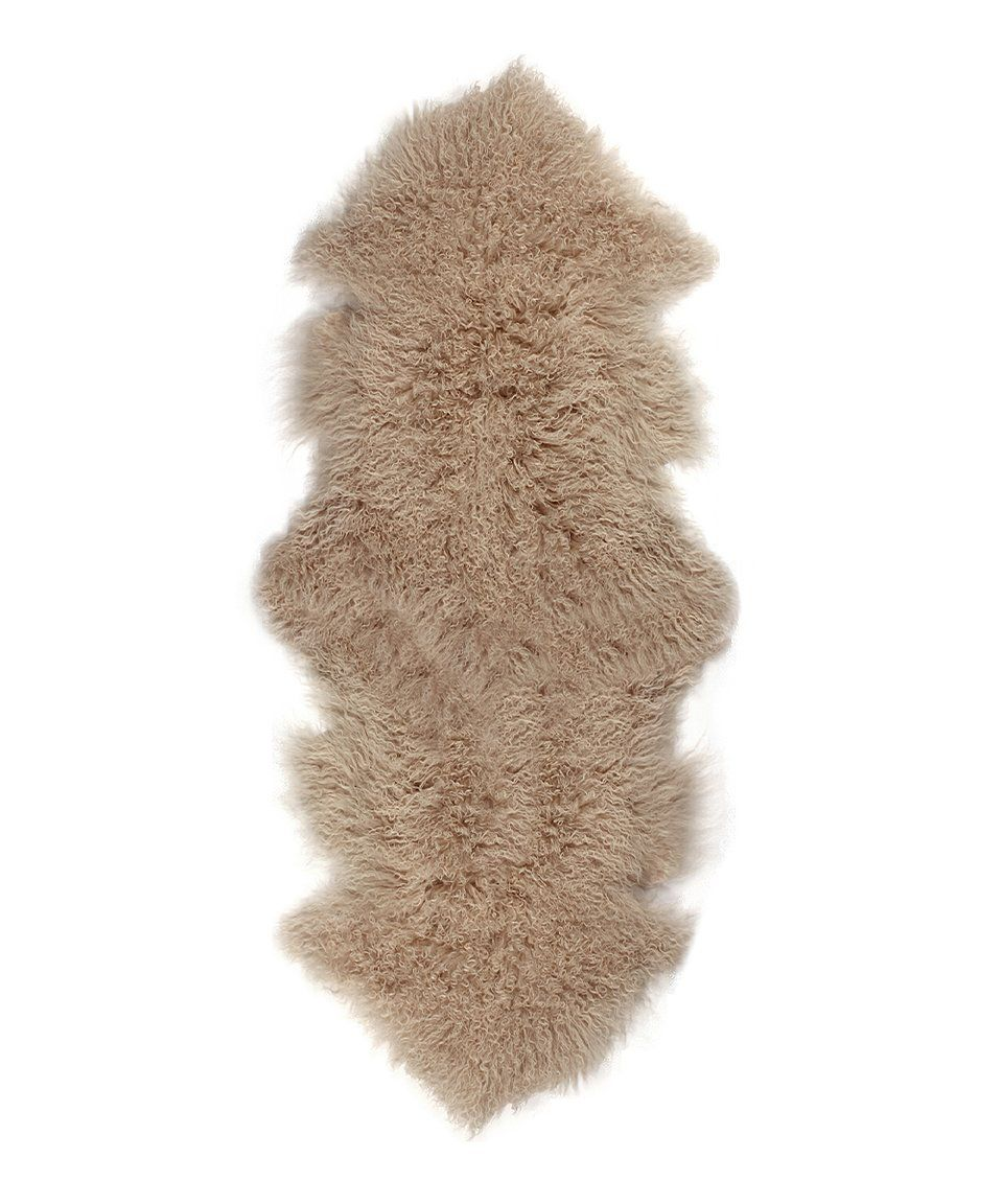 Take A Look At This Tan Rockwall Faux Fur Rug Today