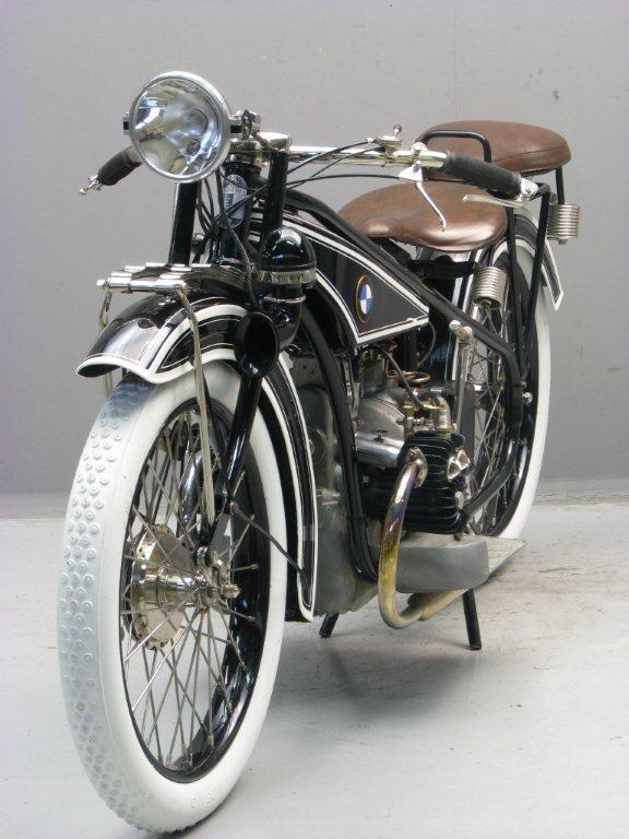 Bmw 1925 R 32 494 Cc Transverse Flat Twin Frame Bikes Velos
