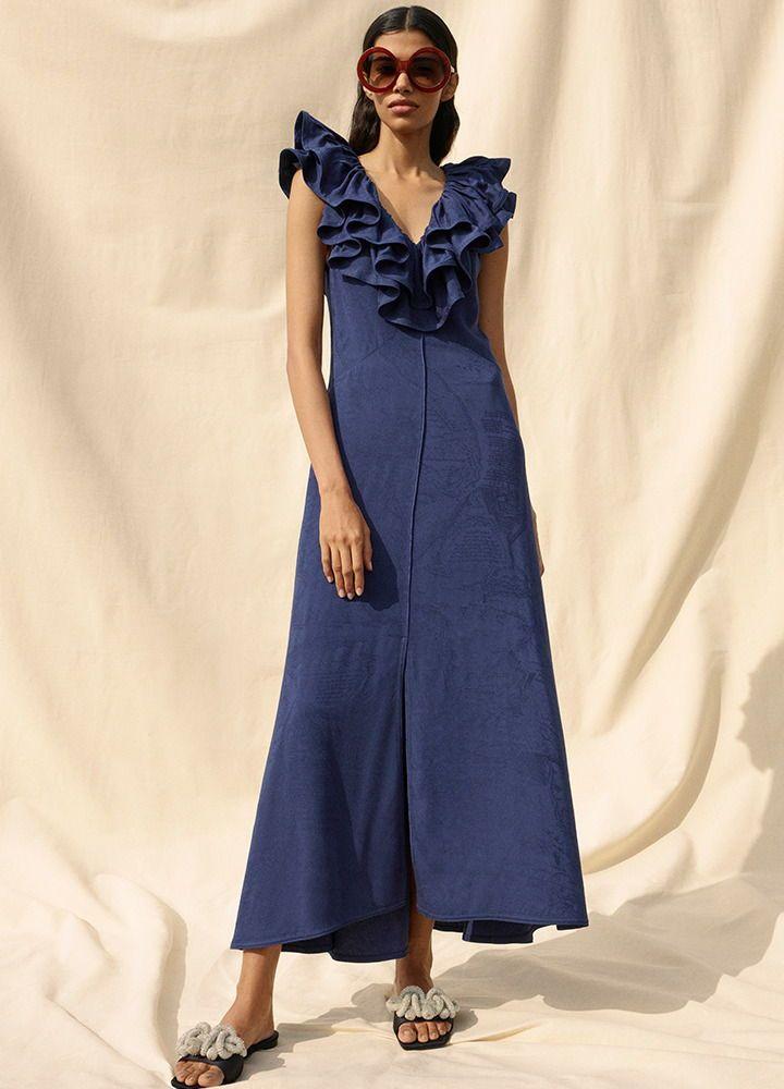 Navyblau ist die Trendfarbe für Kleider im Frühjahr 2020 ...