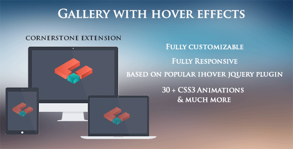 Gallery with hover effects | Code Script | Website details