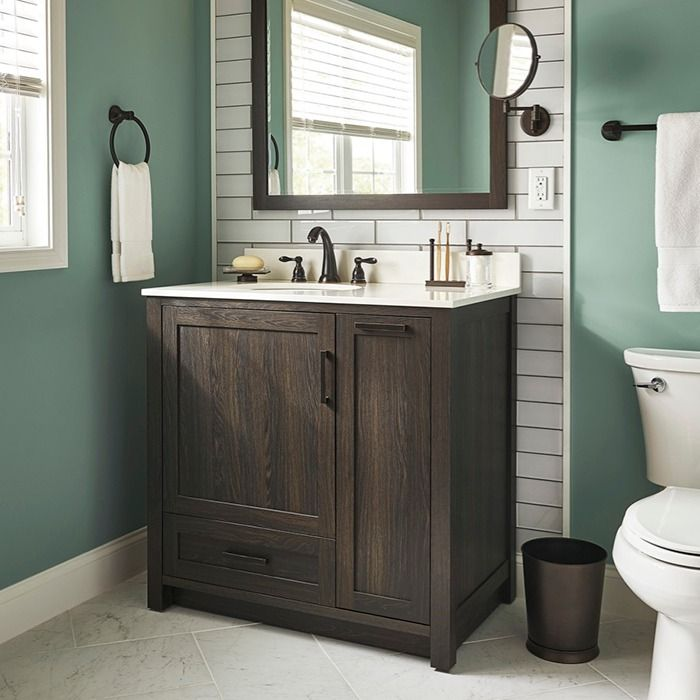 small sink vanity for small bathrooms%0A Choose the best bathroom vanity for your style and space  Vanities come in  two styles  Best BathroomsSmall
