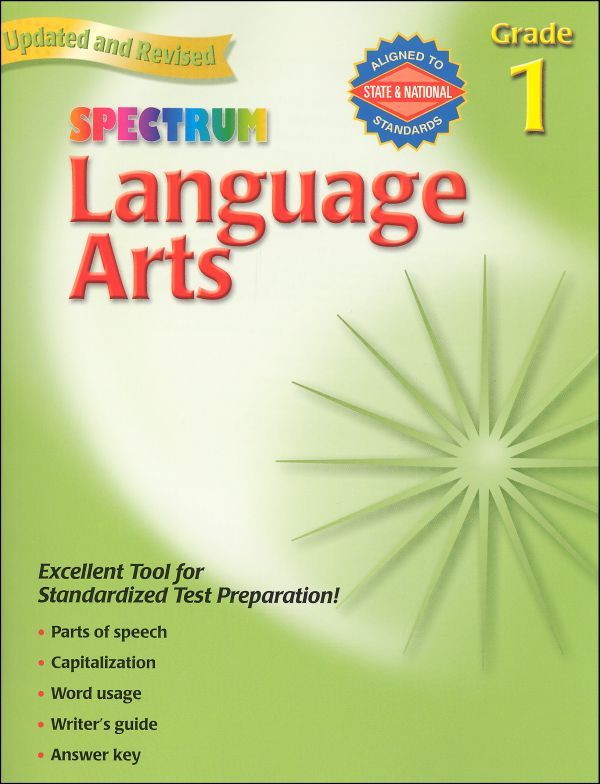 Spectrum language arts grade 1 695 to accompany the fll spectrum language arts grade 1 695 to accompany the fll curriculum fandeluxe Gallery