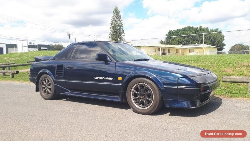 1986 Toyota Mr2 Supercharged Edition 16v 4agze Sc Mk1 Aw11 Jdm
