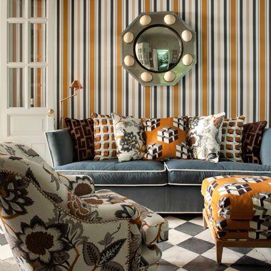 Lorenzo Castillo collection for Gaston y Daniela | orange ...
