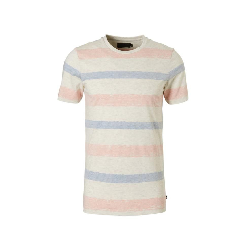e77b5006edc PRODUKT T-shirt, Grijs/blauw/rood #produkt#T-shirt#zomer#SS18#wit ...