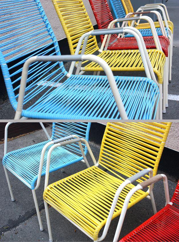Stuhl Holz und Metall Weiß von Nordal, 94,00 € | Ideen | Pinterest ...