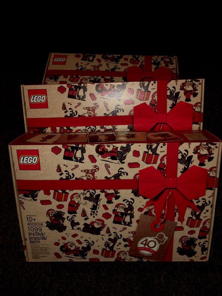Lego 4002018 Employee 2018 Christmas Gift Set New Sealed Ships From