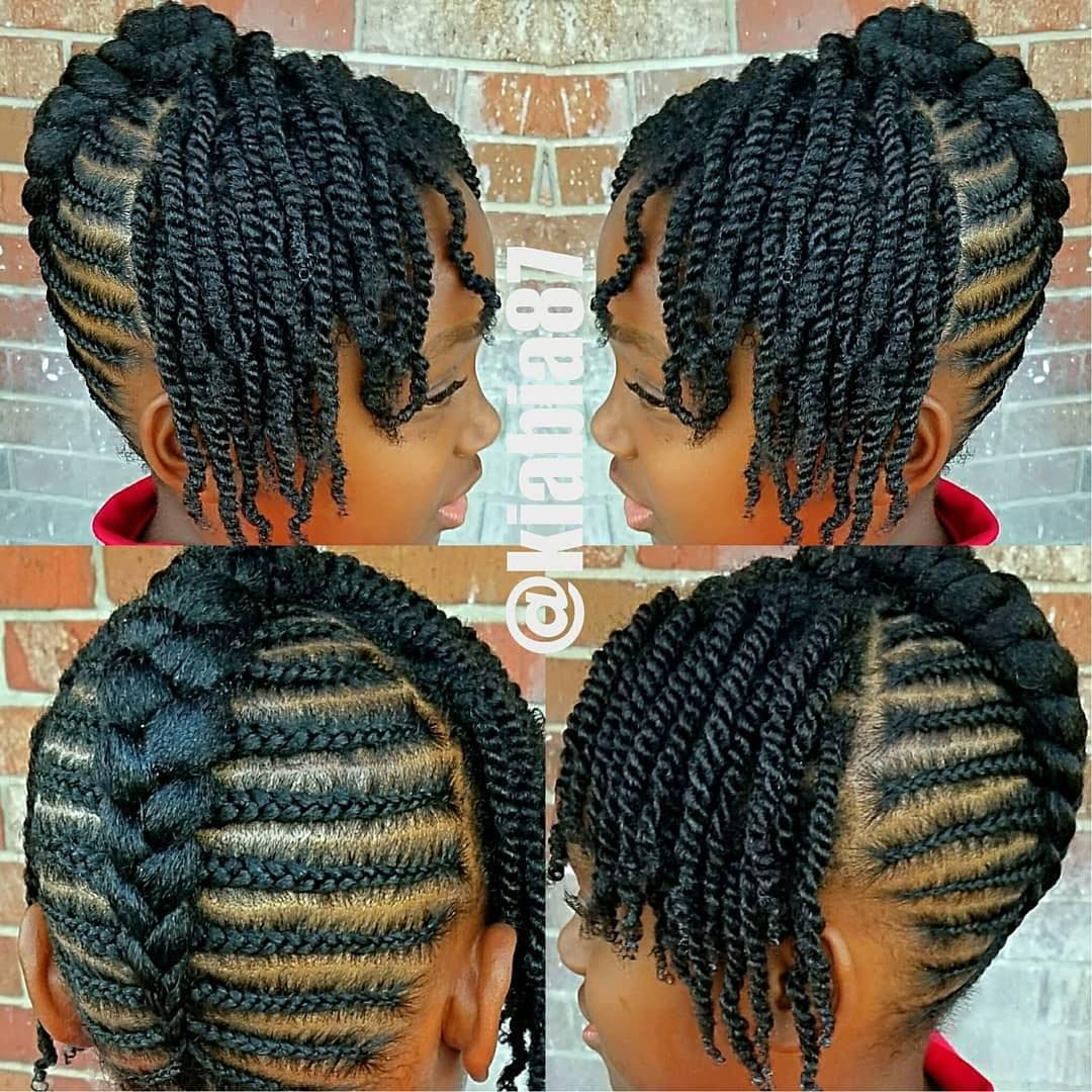Teamnatural On Instagram Cute Kiabia87 Hair Styles Girls Natural Hairstyles Little Girls Natural Hairstyles