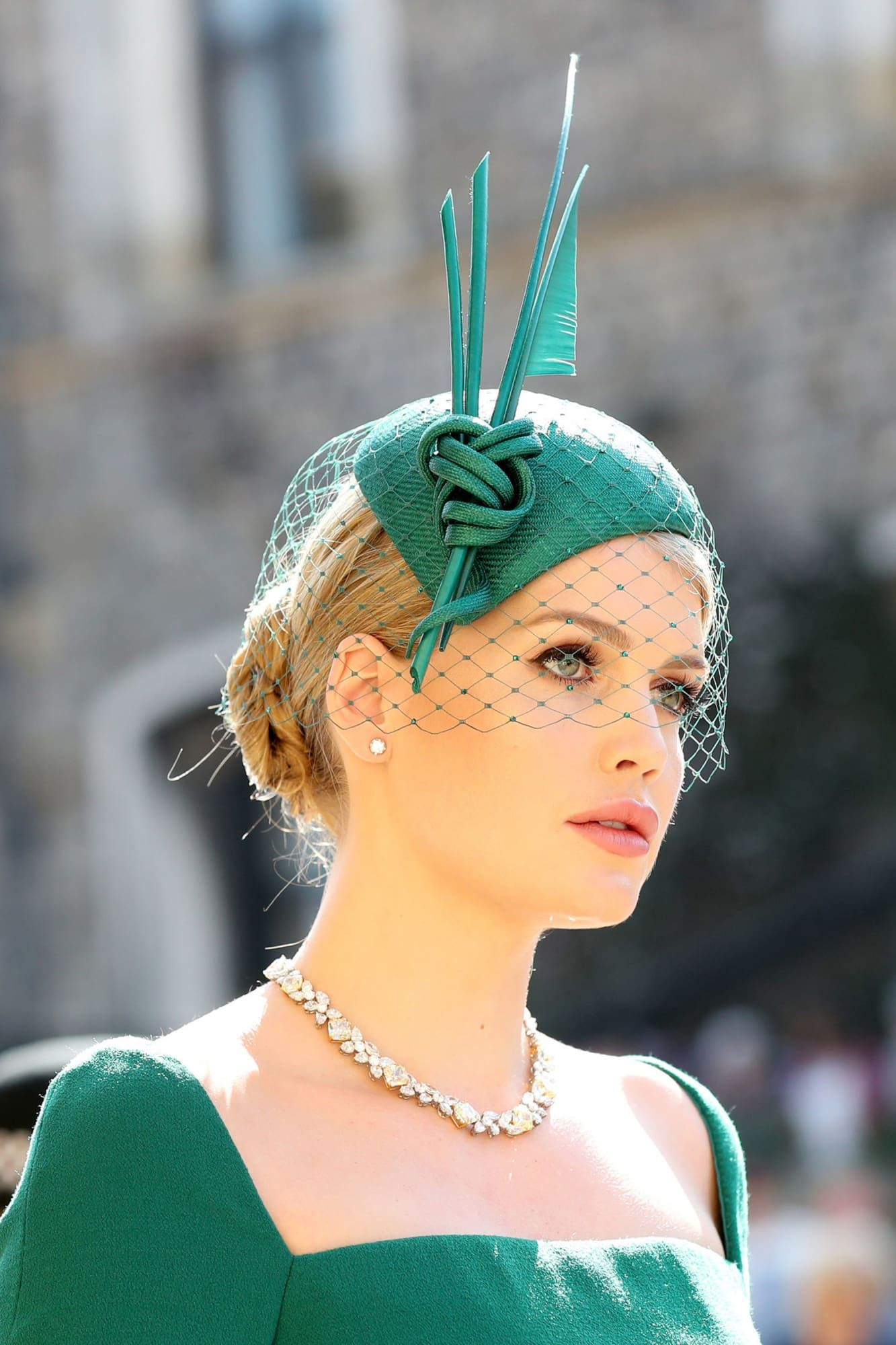 Lady Kitty Spencer at Royal Wedding of Prince Harry and Meghan Markle 38ae34b37982
